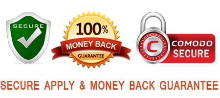 secure apply and money back guarantee